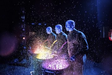 See Blue Man Group live