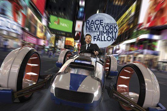 Race Through New York Starring Jimmy Falon