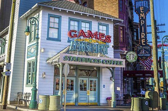 Starbucks Universal New York